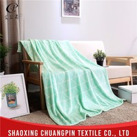 Home textile promotion custom printed hospital blanket