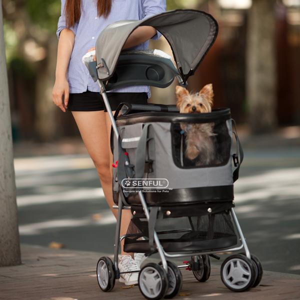 haustier kinderwagen luxus hund kinderwagen reise des haustiers und im freien produkt id. Black Bedroom Furniture Sets. Home Design Ideas