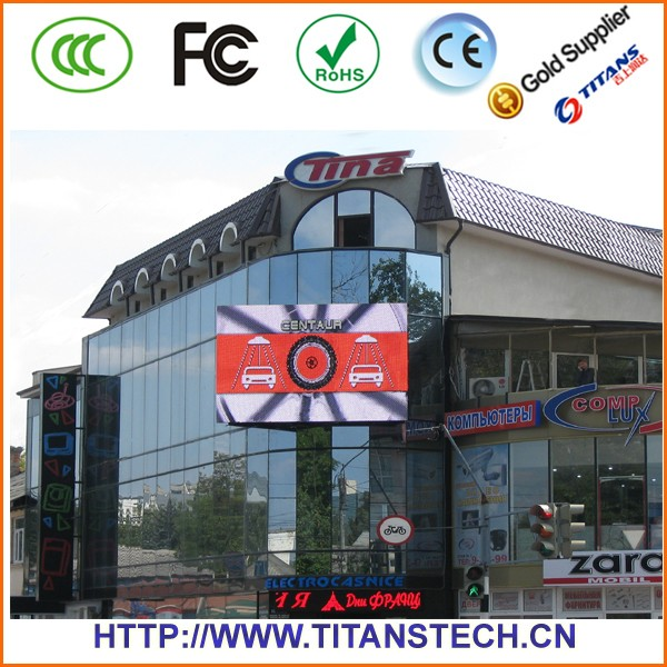 Outdoor Led Advertising Screen Price 10mm Rgb /full Color Led Net ...