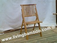 SONG BAMBOO FOLDING CHAIR