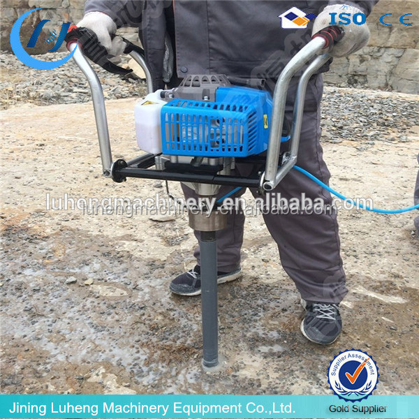 Portable rock and soil Sample Drill Machine for Sale LH-30