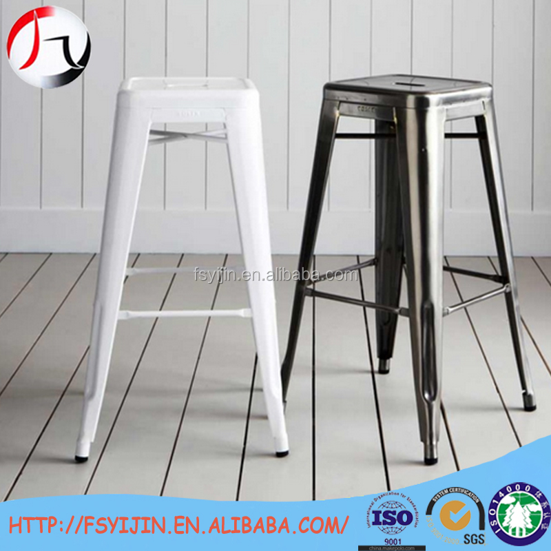 Customized vintage bar stools french style chateau