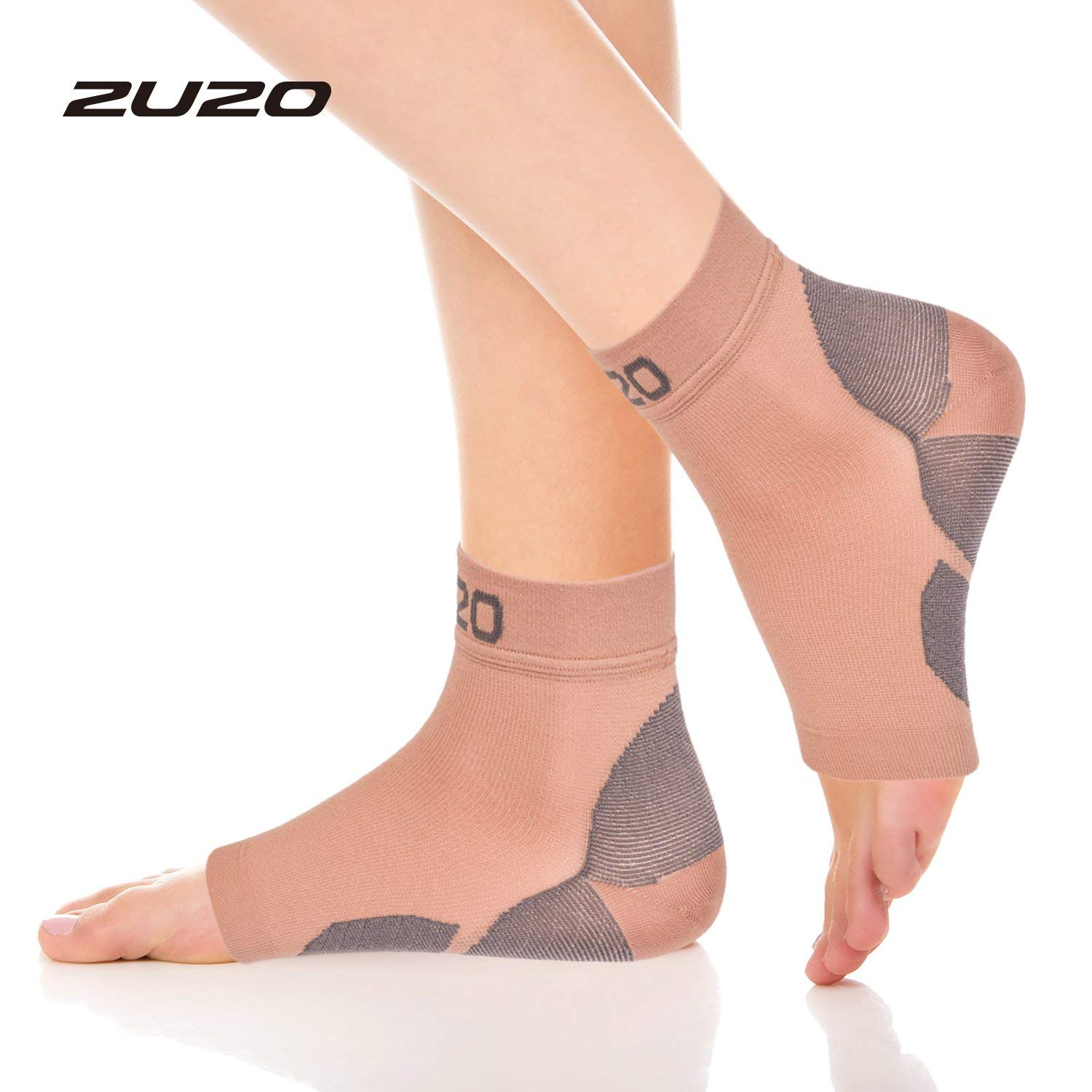 a7b80aba29 Get Quotations · 2U2O Compression Plantar Fasciitis Socks-Compression Foot  Sleeves for Men & Women, Arch Pain