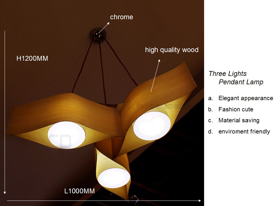 Latest Design Home Big Wood Led Lights And Lightings Chandelier ...
