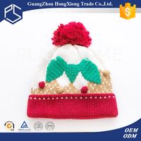 Cute fashion newborn hat hand free knitting pattern for babies