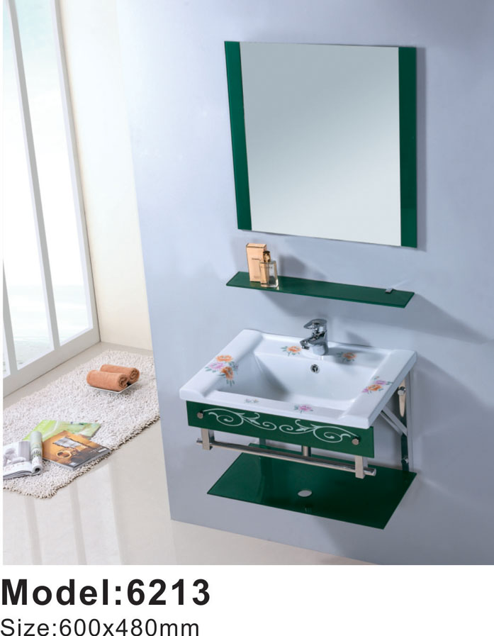 Factory sell washroom set shallow sink and ceramic basin