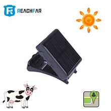 High quuality solar powered Cow gps tracker with Android, IOS free APP, long battery web platform automatically on under sun