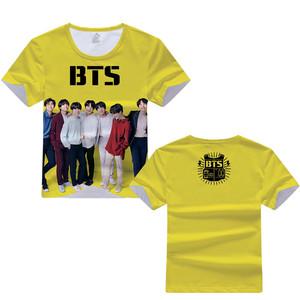 Good Quality K-POP BTS Bulletproof Boy Scouts Teenager Tshirts Short Summer Clothes Casual Cartoon T shirt