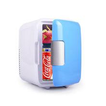 Холодильники mling 4L для автомобилей, ультратихий мини-холодильник с низким уровнем шума, морозильная камера, охлаждающая нагревательная кор...(Китай)