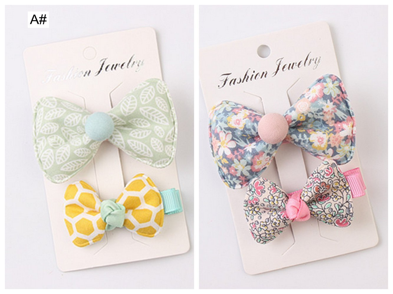 7d4543b470ce8 Get Quotations · 4 Pcs Fine Hair Baby Bald Baby Girls Hair Bows