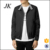 Fashion design leather motorbike jacket for men blank autumn coat for man