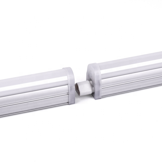 UL DLC T5 Led Buis 1.2 M 15 W T5 Neonlichtinrichting 4ft Koppelbaar Lineaire Licht 110LM/W