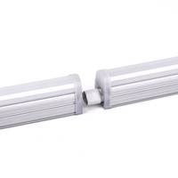 UL DLC T5 Led Tube 1.2M 15W T5 Fluorescent Light Fixture 4ft Linkable Linear Light 110LM/W