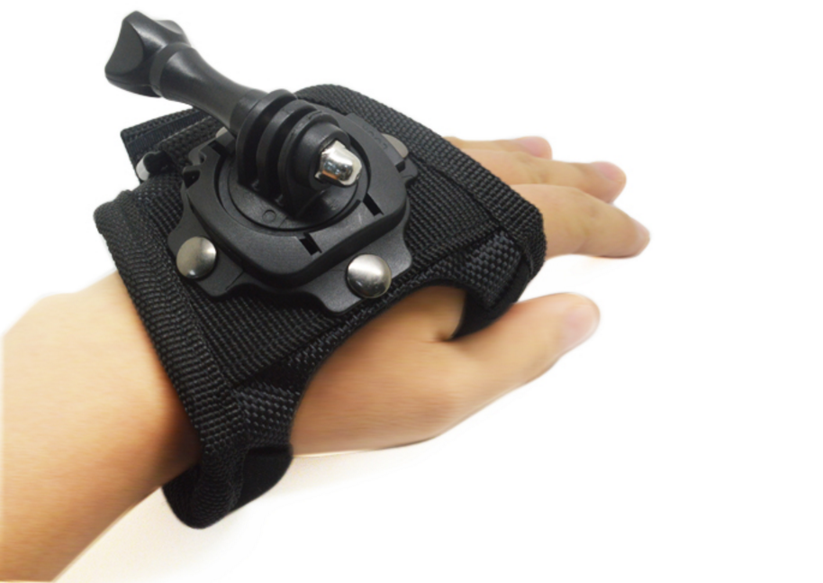Camera Hand strap 360-degree Rotation Creative Glove-style Mount with screw for GoPro Hero 3+/3/2/1/5/6 SJ4000 Action Camera