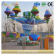 Outdoor amusement park decoration happy jellyfish ride for sale