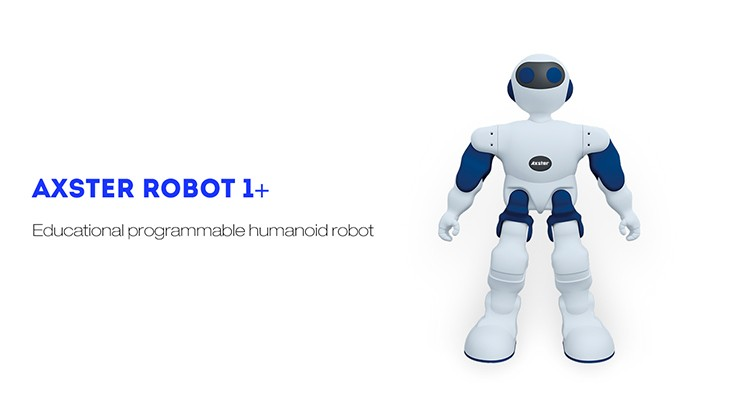 Axster 1+ Shenzhen wholesale educational programmable humanoid robot toy for kids