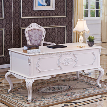 2015 China Foshan Manufacturer High Quality Modern Luxury White Modular Wooden Home Office Furniture Table Designs