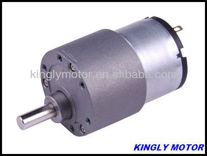 permanent magnet motor with gearbox,12v dc 3rpm high torque mini electric gear box motor,12v dia 37mm dc gear motor(JL-37B520)