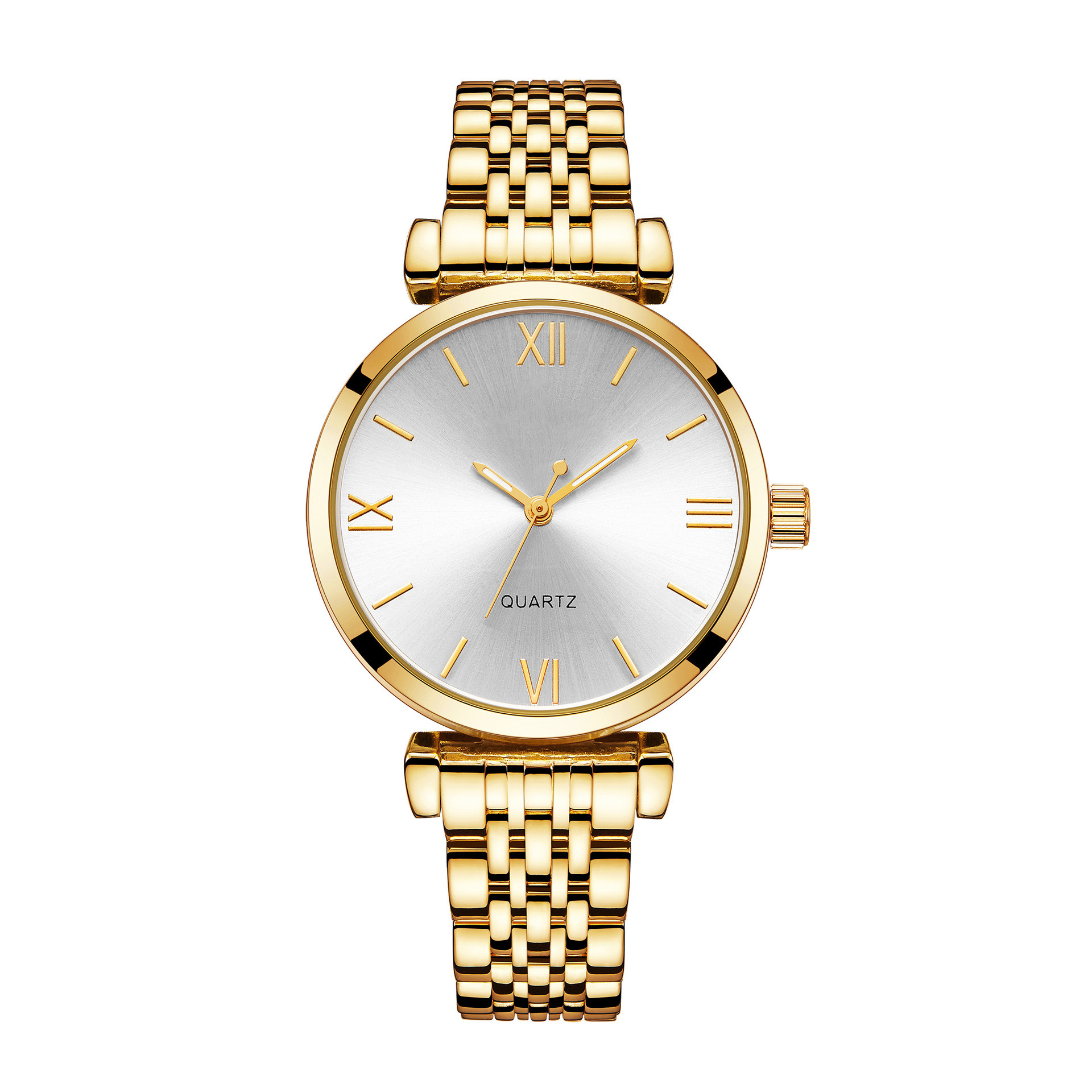 new arrival 2019 Quick ladies watches women  simple  luxury watch band diamond simple  Rose Gold Wholesale simple