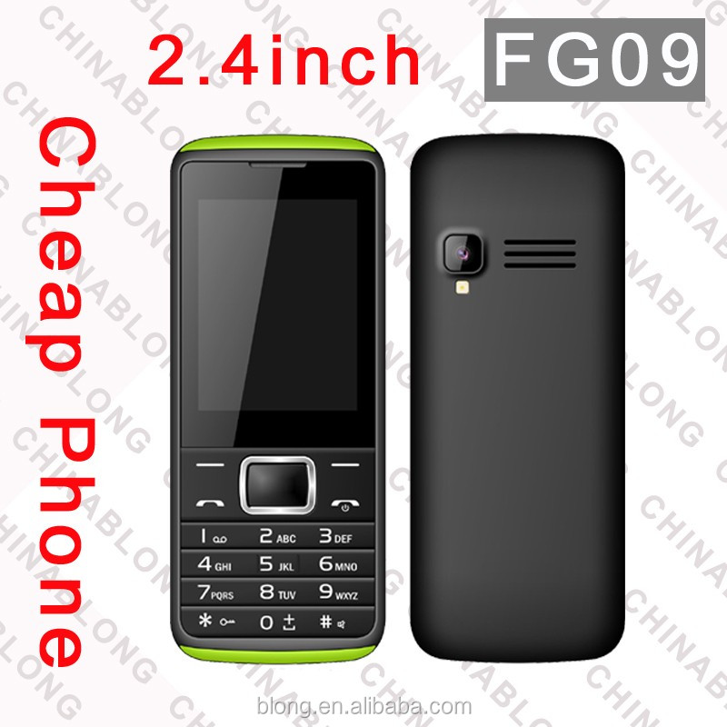 2.4 inch Battery 800Mah Cell Phone,Talking Voice Keypad / Buttons Senior Mobile Phone