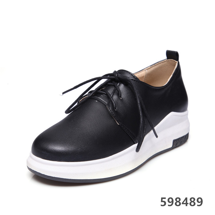 FLAT HEEL LACE-UP LADIES COMFORT LINE SHOES