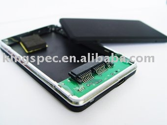 1.8-inch HDD Enclosure with USB2.0 Interface Work for 1.8-inch MicroSATA Interface hard drive