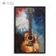 Music Theme Modern Home Decor 3D Handmade Metal Sculpture Guitar Acrylic Art Wall Painting