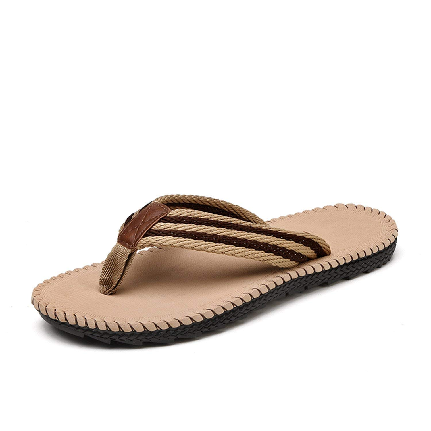 Marvin Cook Summer Cool Men Slippers Sandals Beach Slippers Comfortable Flip Flops Shoes Plus Size 45