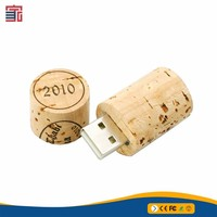 2018 Drift Bottle Usb 2.0 Flash Drive Wooden Gift Pen Drive