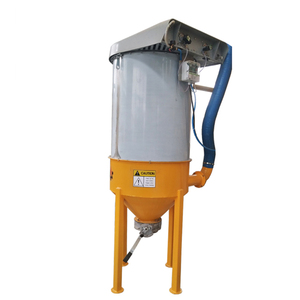 Vibrating type and air jet type portable Dust collector for concrete batching plant