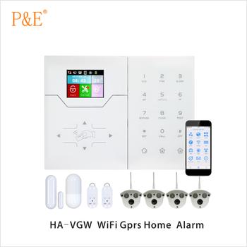 Ha-vgw Wifi/gprs Sistema Di Allarme Domestico Intelligente - Buy ...