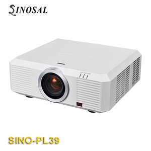 SINOSAL 3LCD 10000 ansi lumens HDMI large scale outdoor Projector SINO-PL39 for building mapping