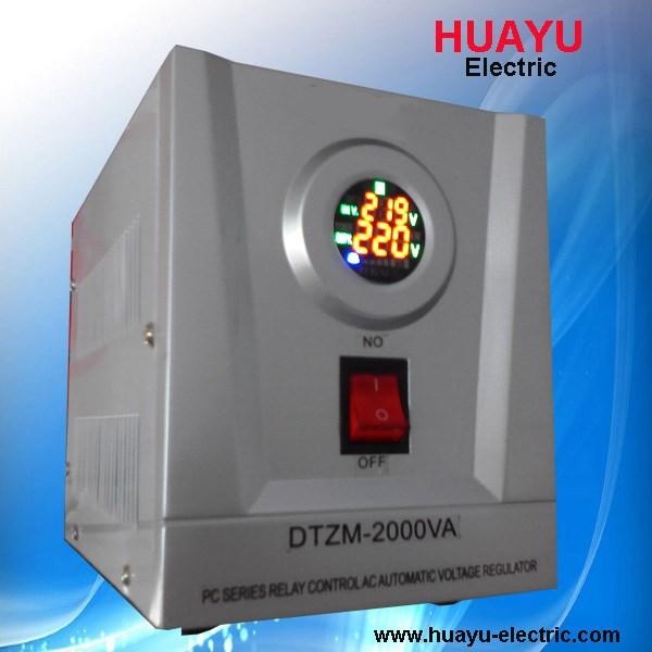 Relay Type Mini Avr Portable Stabilizer Voltage Regulator