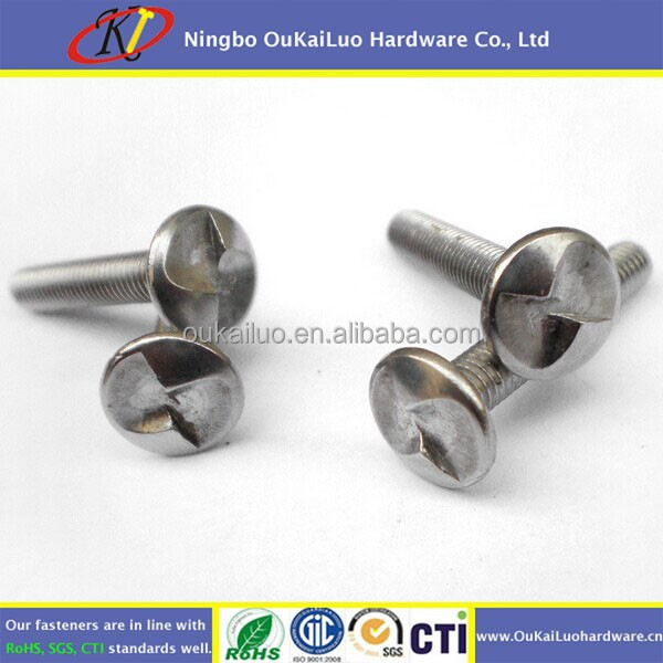 M6 Stainless Steel S Type Cheese/Truss/Flat Head Anti-Theft Security Machine Screw