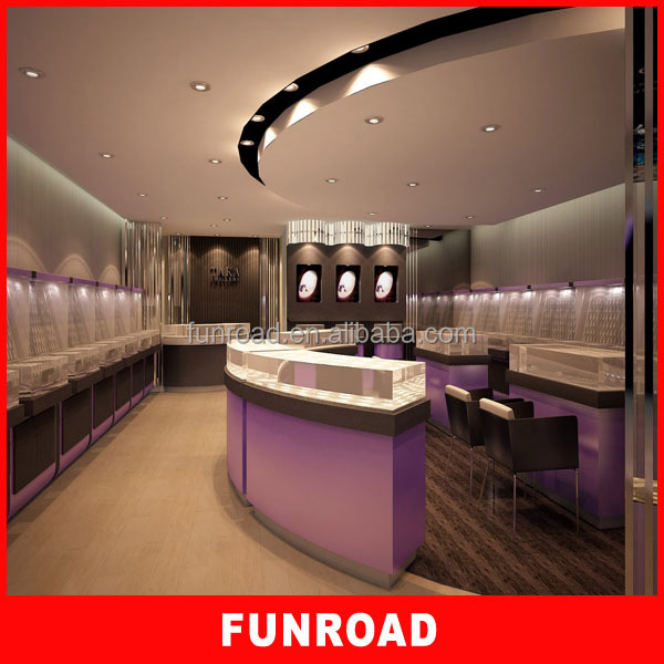 Quietly Elegant Jewelry Store FurnitureJewelry Shop Interior DesignGlass Kiosk With Customize