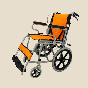 China Factory Rehabilitation Therapy Drive Medical Manual Wheelchair & Transport Chair