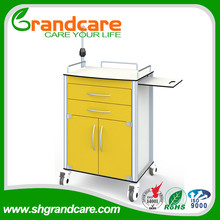 G-TN006 Easy Sterilized Hospital Bedside Table With Lockers
