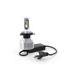 Unipower IP65 waterdichte 4000lm 20 W X6C 9003 hb2 p43t H4 EMC CANBUS led koplamp lamp voor polo mk4