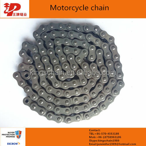 Peru motorcycle parts 428H 150L motorcycle chain and sprocket kits