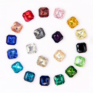 Colorful Crystal Fancy Jewelry Stone Crystal Glass Beads for Jewelry Making