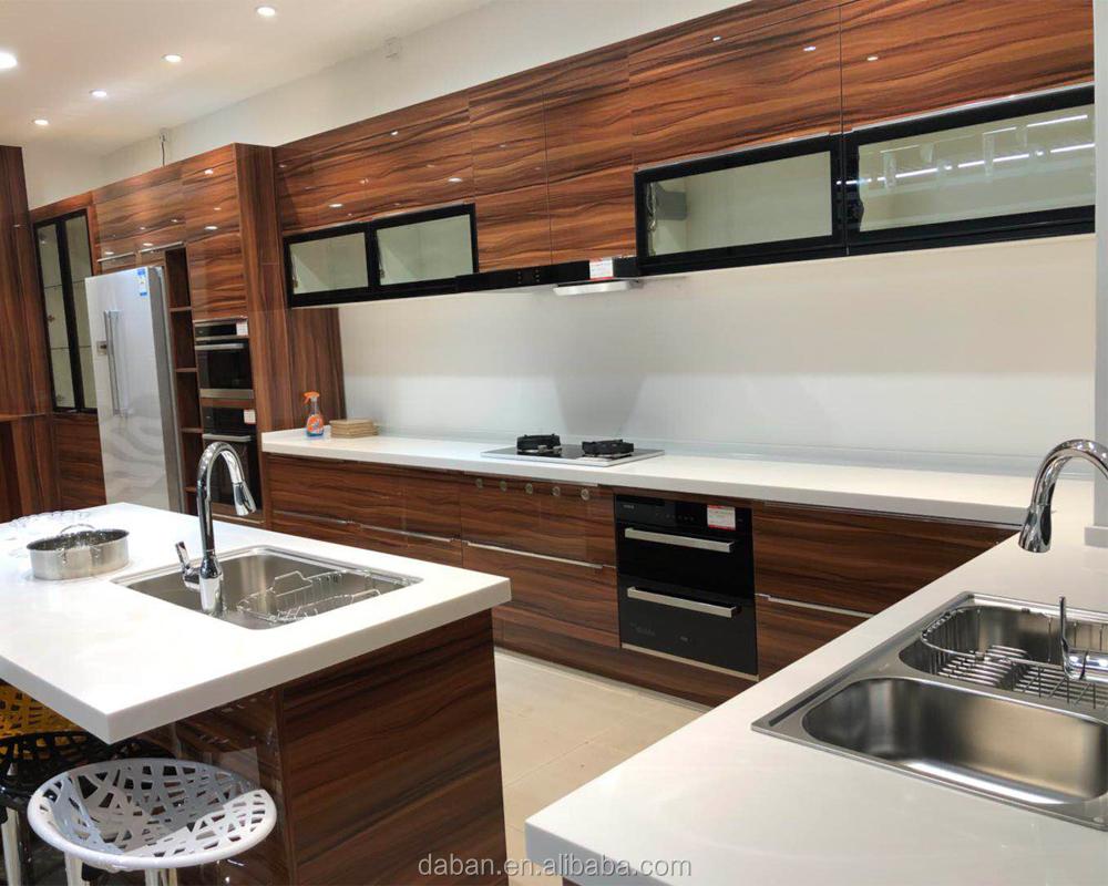 Kitchen Cabinets Showroom Displays For Sale New Showroom Display Island Kitchen CabiIn High Gloss Uv Wood