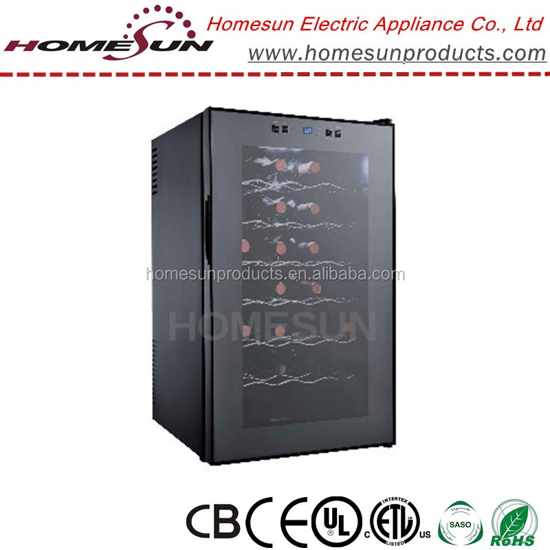 28 Bottles hot sale thermoelectric Wine Cooler for hotel room with CE/ERP approval