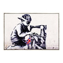 Dafen Customized Banksy Canvas Printing Services HD Designs Photos Picture