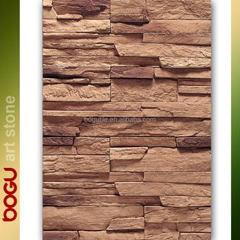 Fake Faux Stone Facade Wall Siding Ceramic Cladding Tile