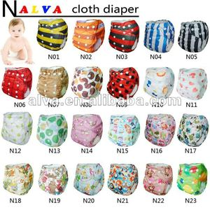 Alva cloth nappy reusable baby cloth diaper factory in china