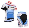 CUBE 2016 Summer Short Sleeve Bicycle Cycling Jersey bib shorts set Bike Clothing Bicycle Clothes Sportswear