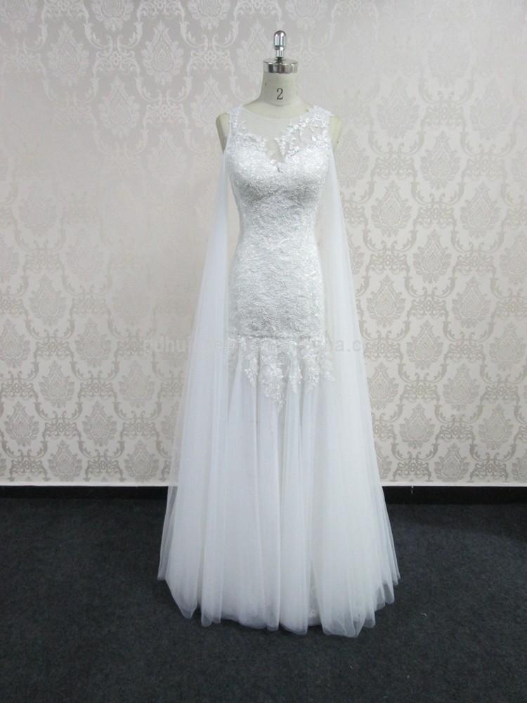 Beautiful Crystal Beaded Chiffon Pink Beach Wedding Dresses