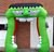 2020 Hot sale inflatable frankenstein arch for Halloween