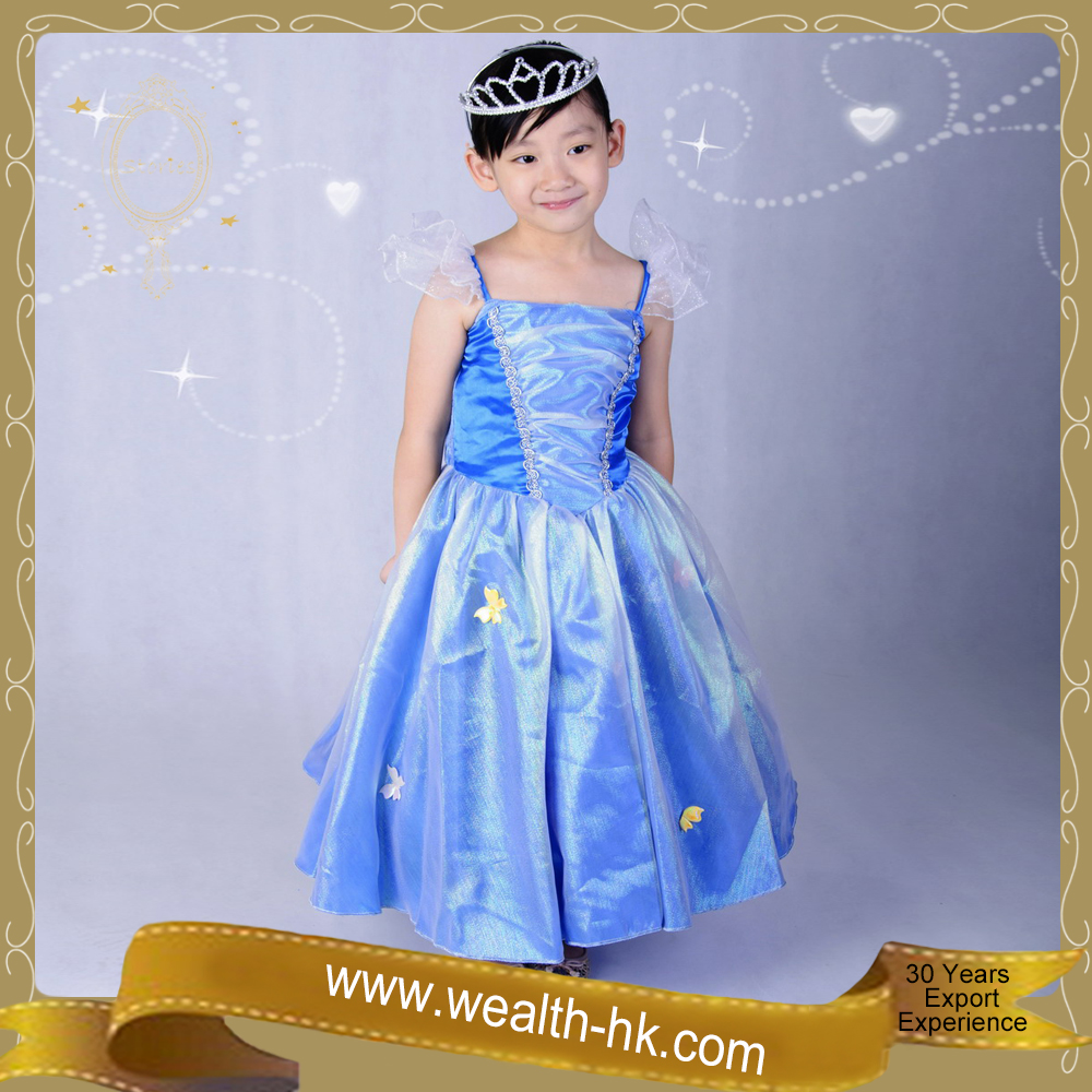 Butterfly Fairy Princess Dress Fancy Dresses for girls kids party dresses