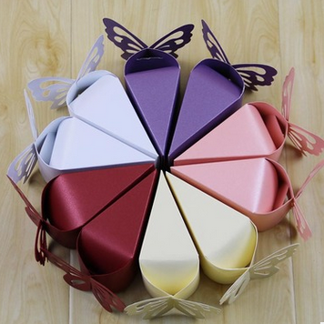 Creative Butterfly Candy Boxes Candy Box Pearl Paper Packing Box